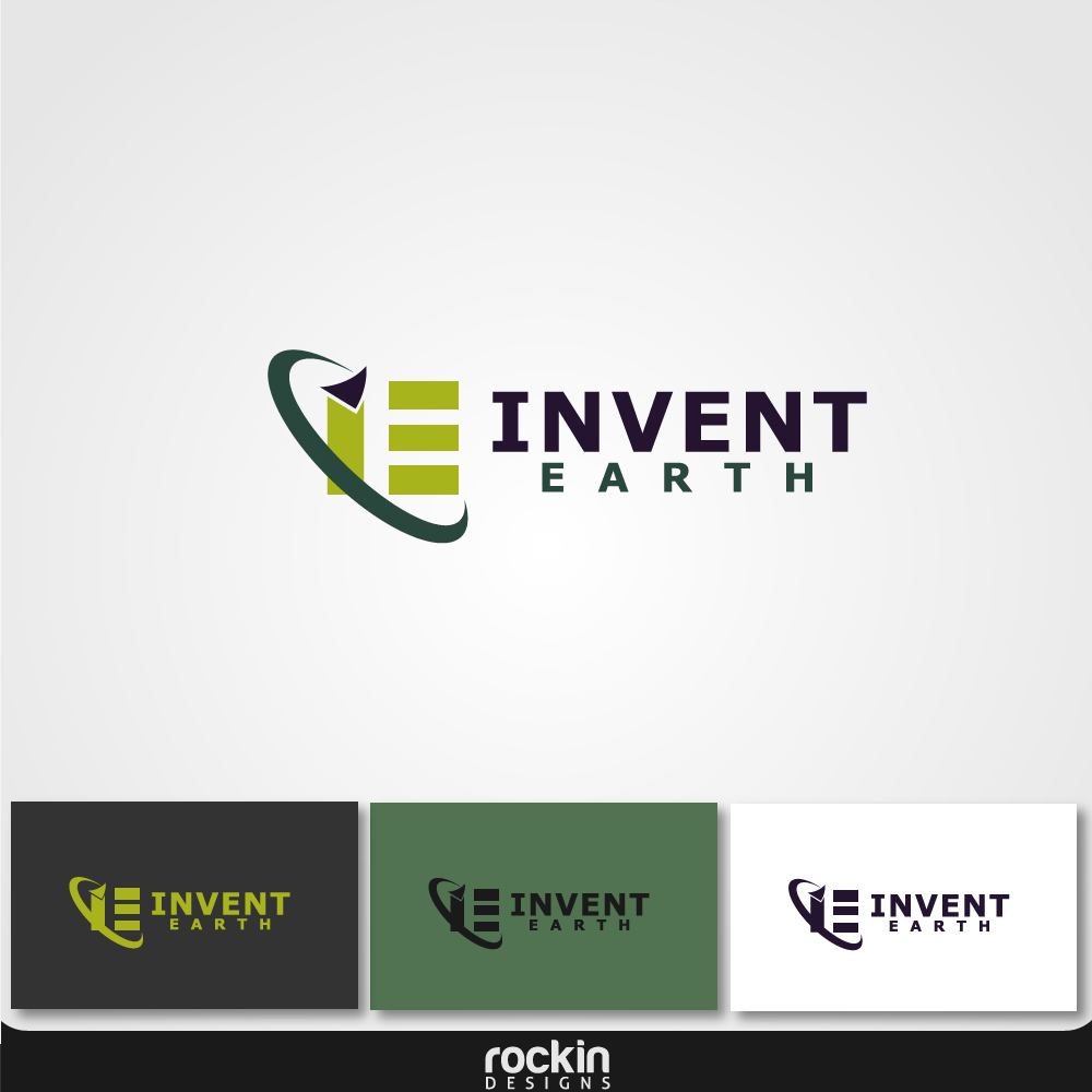 Logo Design by rockin - Entry No. 18 in the Logo Design Contest Artistic Logo Design for Invent Earth.