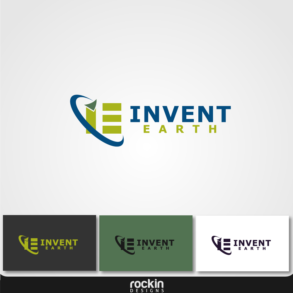 Logo Design by rockin - Entry No. 19 in the Logo Design Contest Artistic Logo Design for Invent Earth.