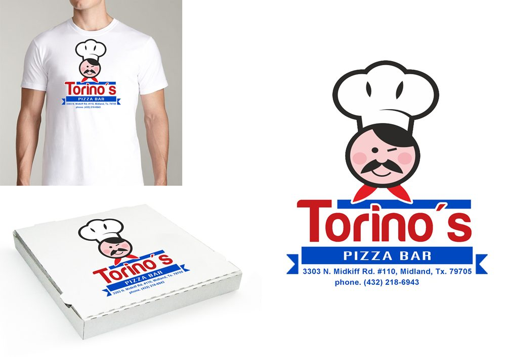 Custom Design by Respati Himawan - Entry No. 16 in the Custom Design Contest Torino's Pizza Bar Custom Design.