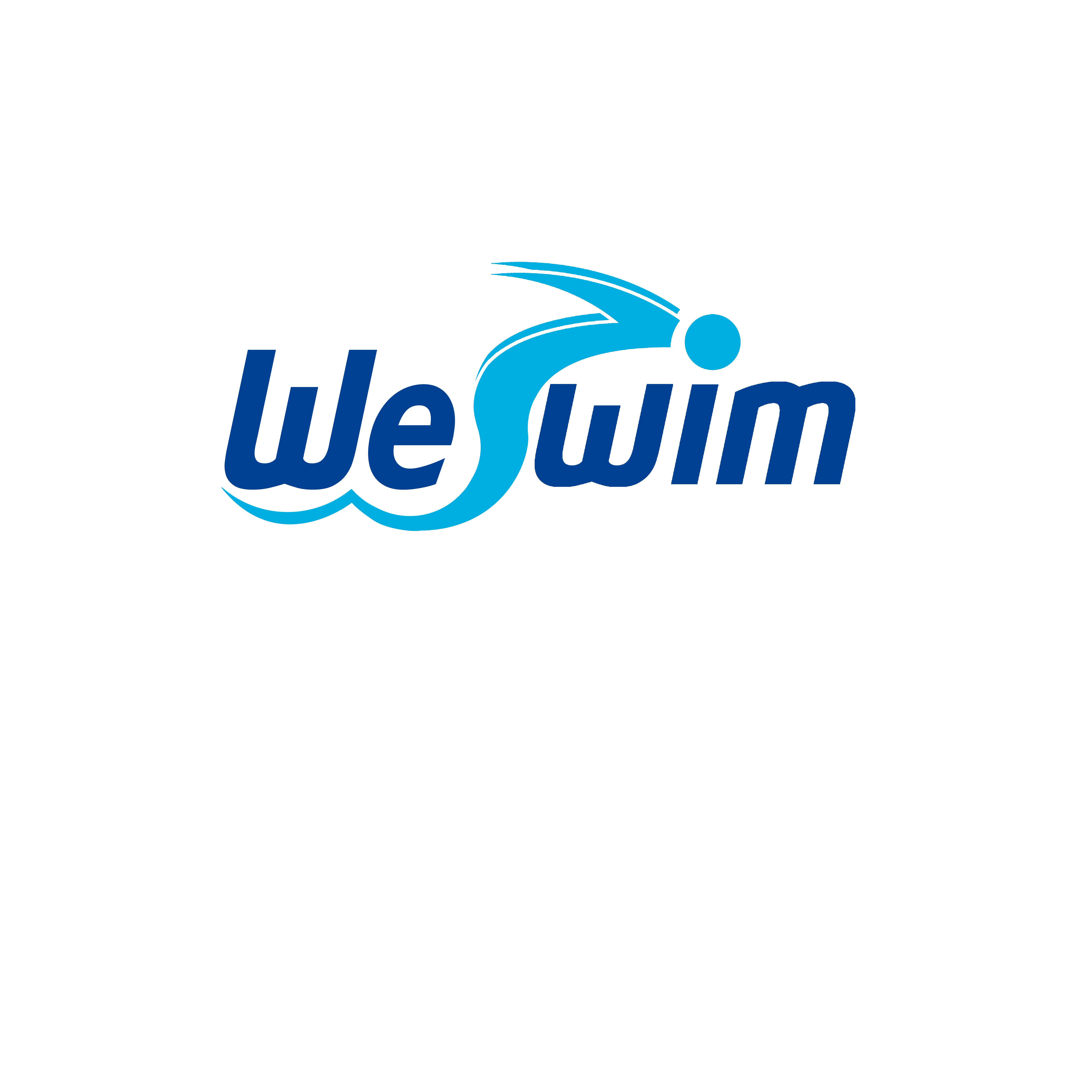 Logo Design by Allan Esclamado - Entry No. 124 in the Logo Design Contest Captivating Logo Design for We Swim.