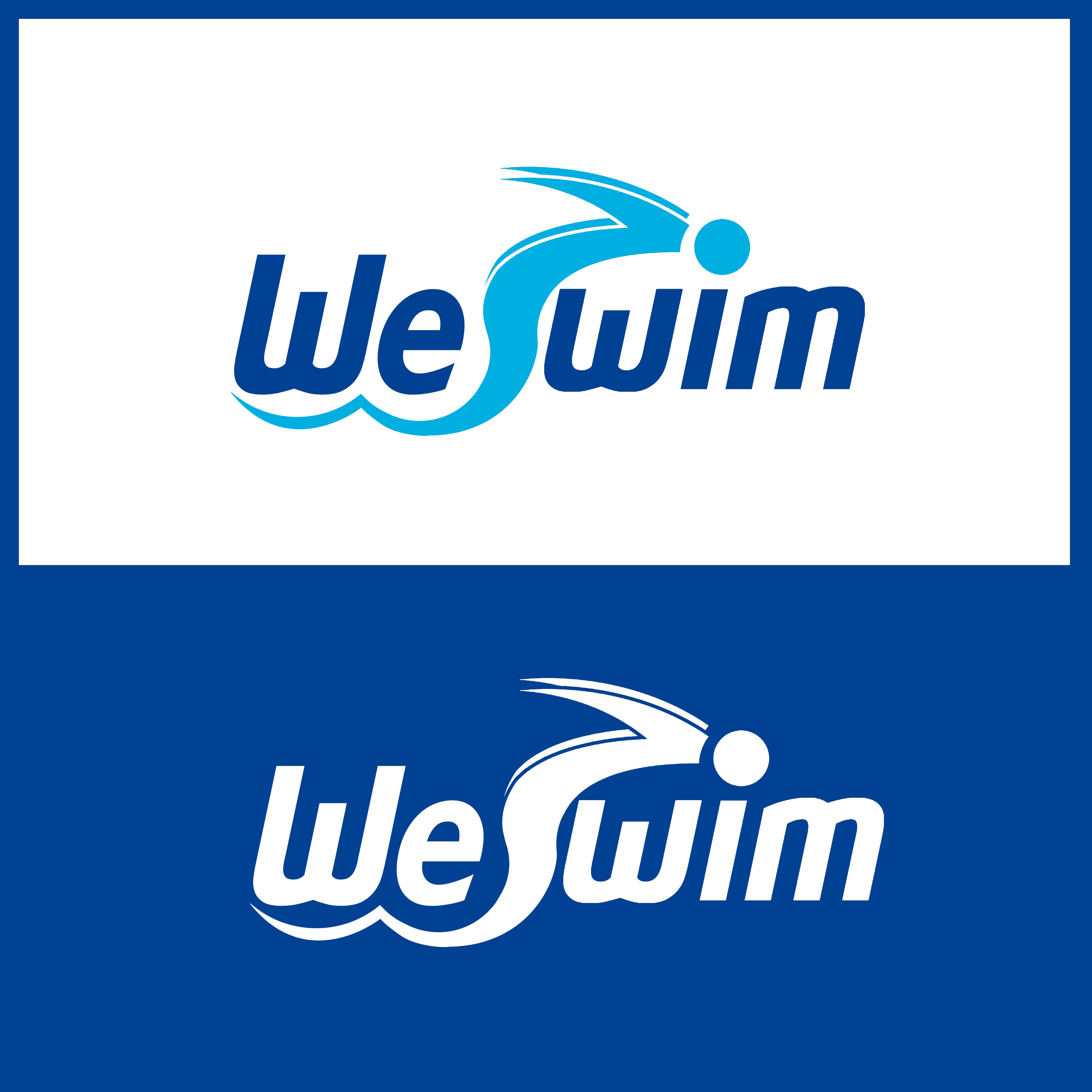 Logo Design by Allan Esclamado - Entry No. 125 in the Logo Design Contest Captivating Logo Design for We Swim.