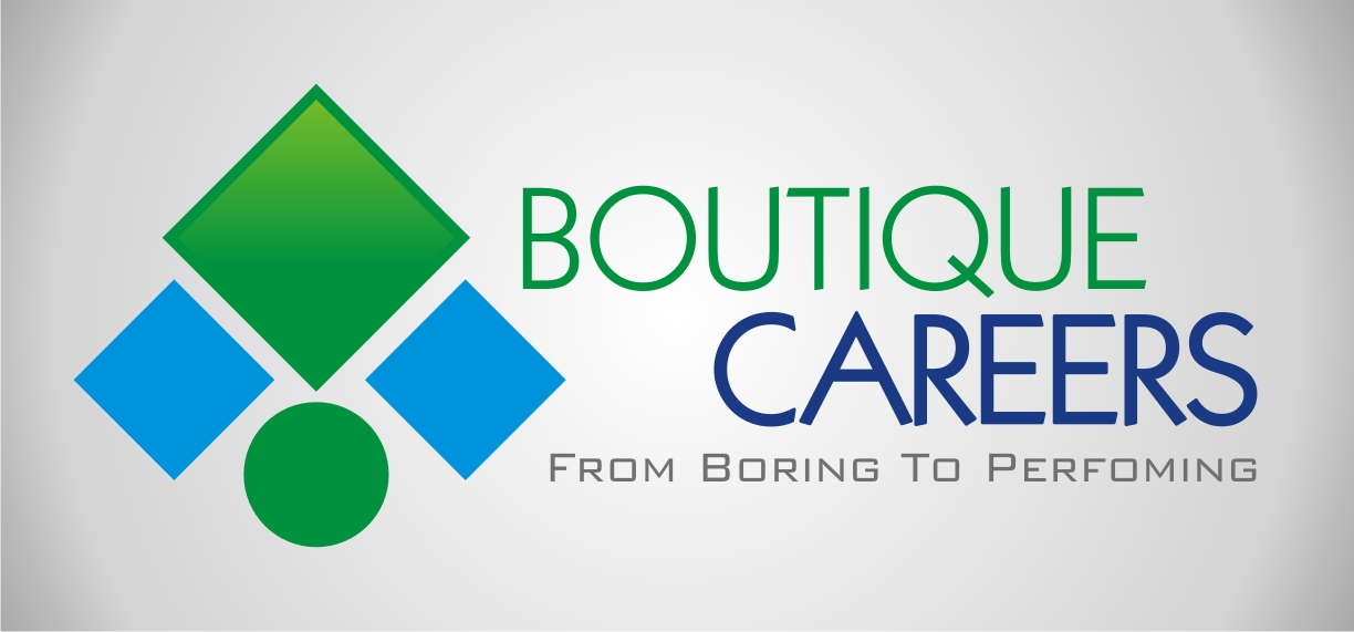 Logo Design by Angger Noviadi - Entry No. 61 in the Logo Design Contest Captivating Logo Design for Boutique Careers.