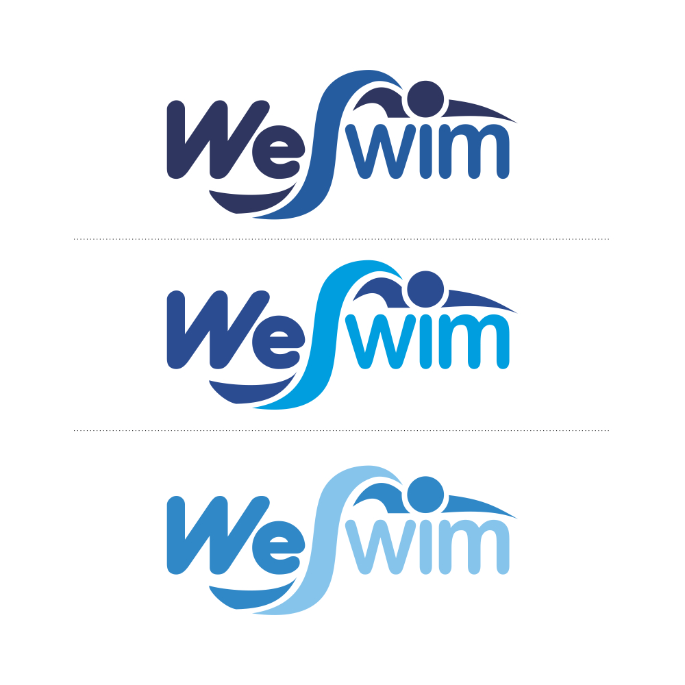 Logo Design by Private User - Entry No. 128 in the Logo Design Contest Captivating Logo Design for We Swim.