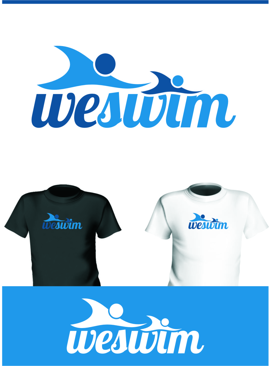 Logo Design by Ngepet_art - Entry No. 129 in the Logo Design Contest Captivating Logo Design for We Swim.