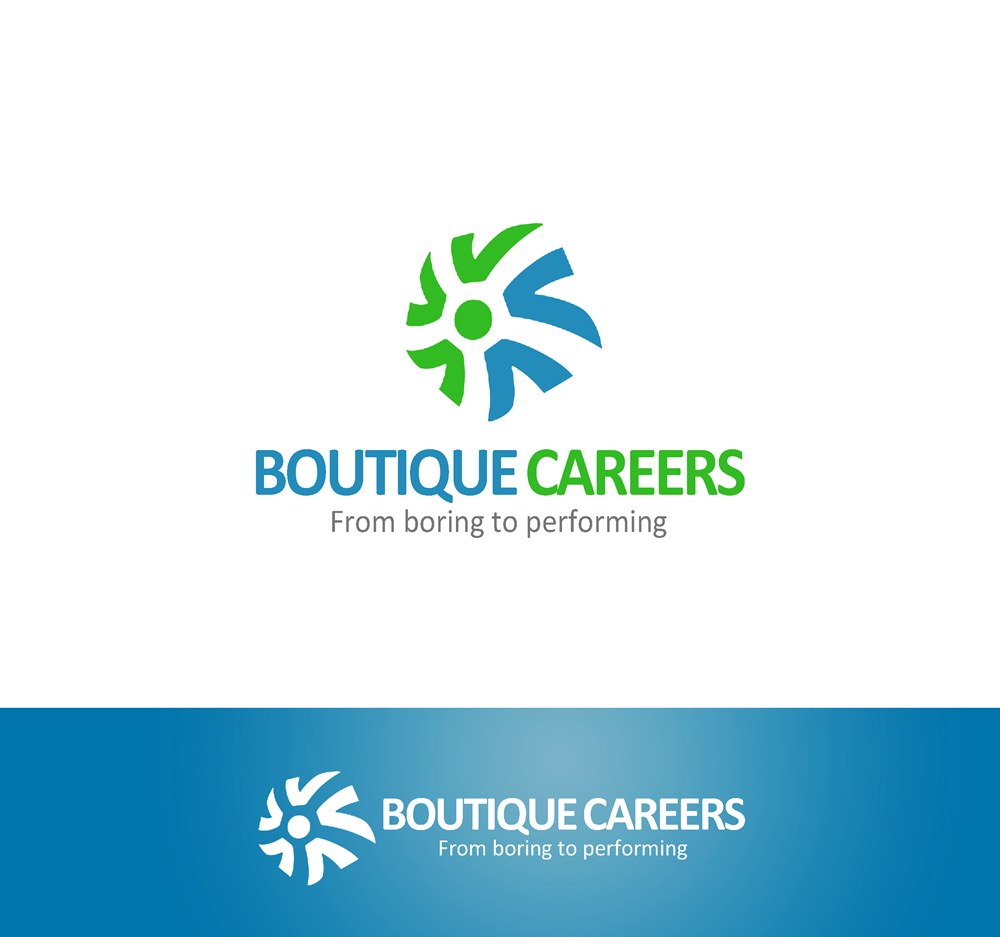 Logo Design by Respati Himawan - Entry No. 64 in the Logo Design Contest Captivating Logo Design for Boutique Careers.