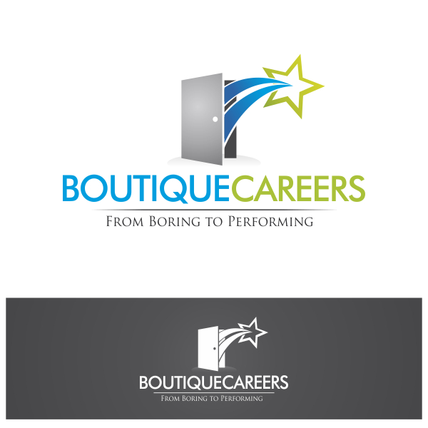 Logo Design by Private User - Entry No. 65 in the Logo Design Contest Captivating Logo Design for Boutique Careers.