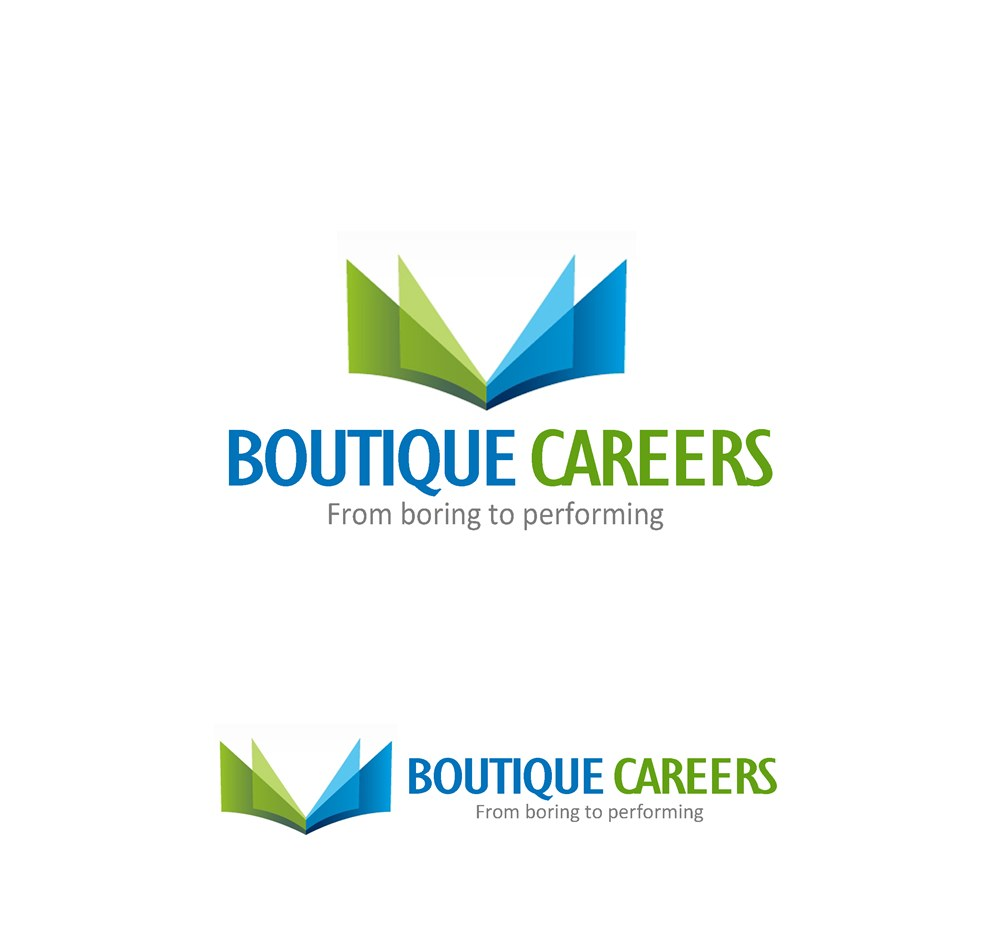 Logo Design by Respati Himawan - Entry No. 66 in the Logo Design Contest Captivating Logo Design for Boutique Careers.