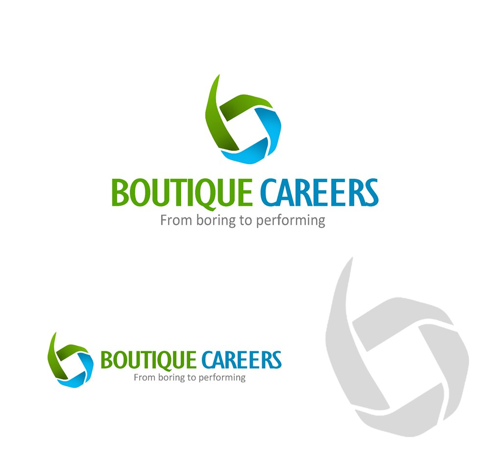 Logo Design by Respati Himawan - Entry No. 67 in the Logo Design Contest Captivating Logo Design for Boutique Careers.