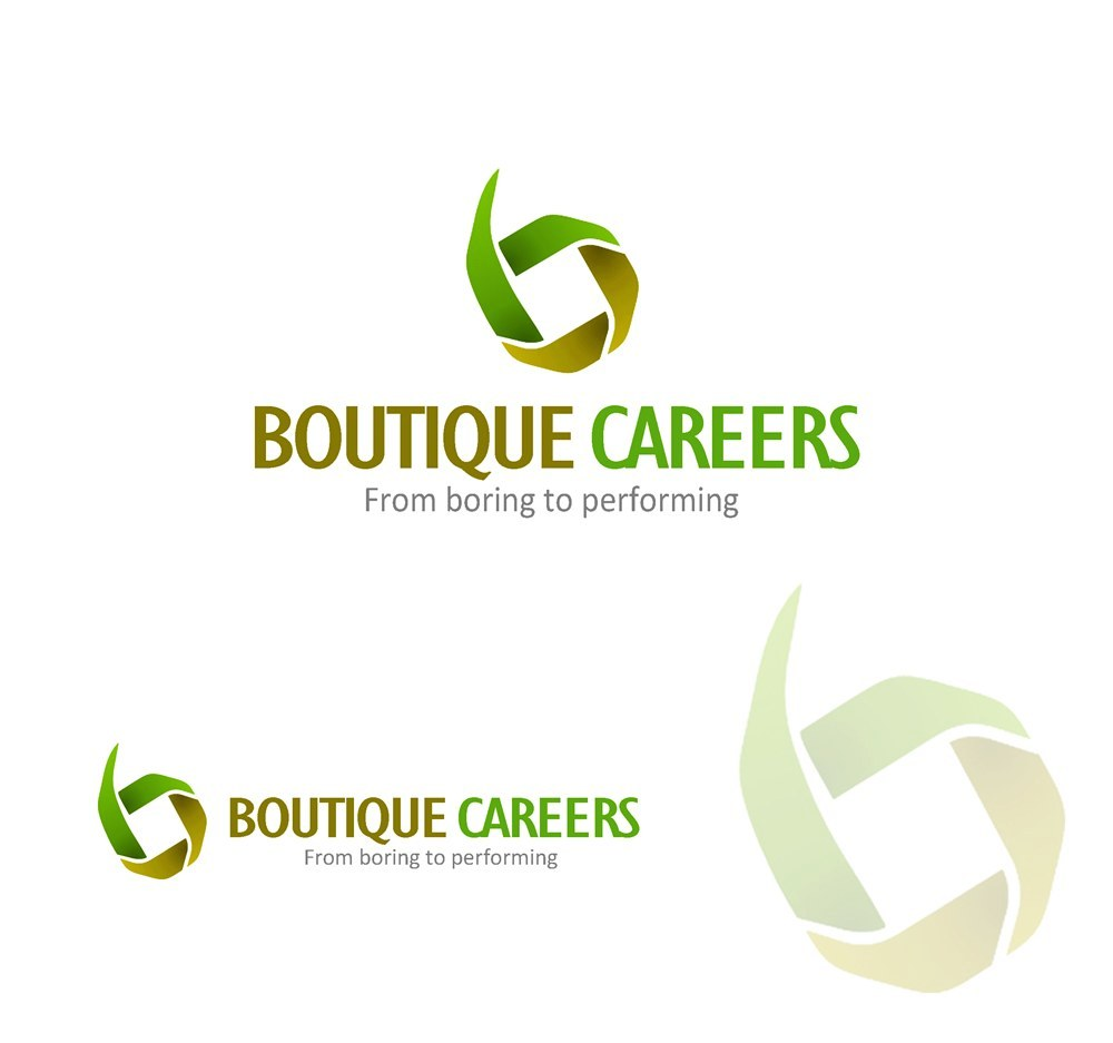 Logo Design by Respati Himawan - Entry No. 68 in the Logo Design Contest Captivating Logo Design for Boutique Careers.