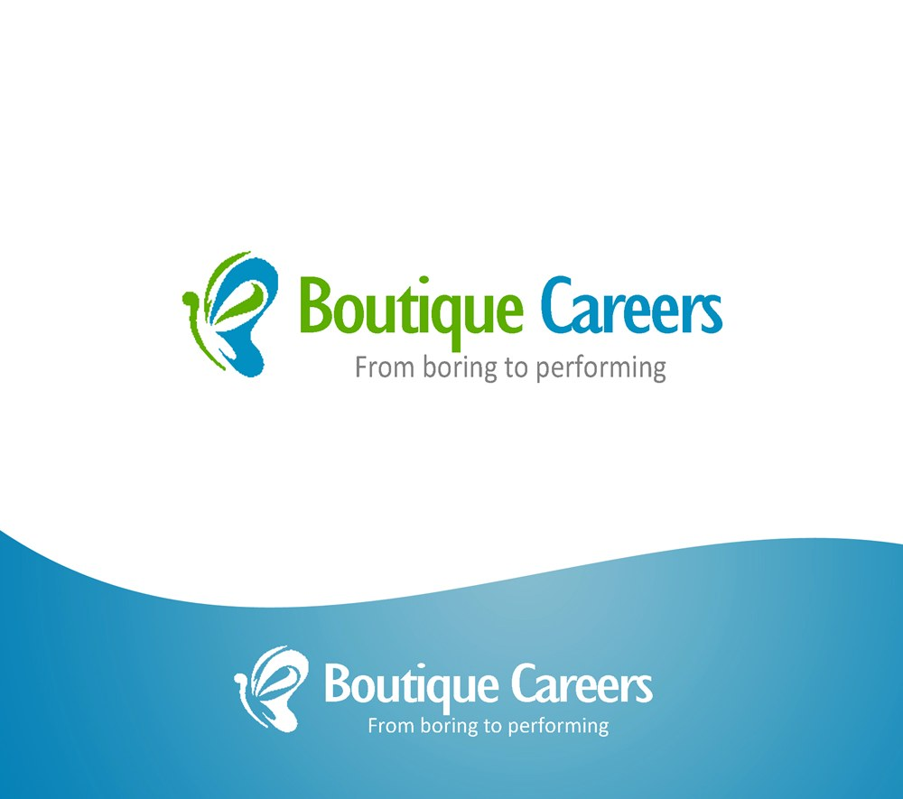 Logo Design by Respati Himawan - Entry No. 69 in the Logo Design Contest Captivating Logo Design for Boutique Careers.