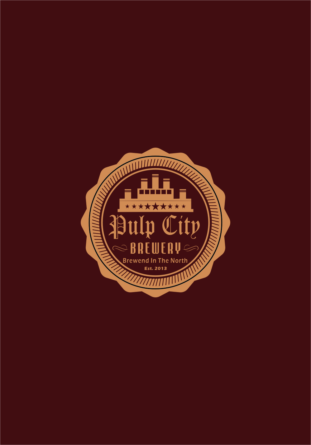 Logo Design by RasYa Muhammad Athaya - Entry No. 102 in the Logo Design Contest Artistic Logo Design for Pulp City Brewery.
