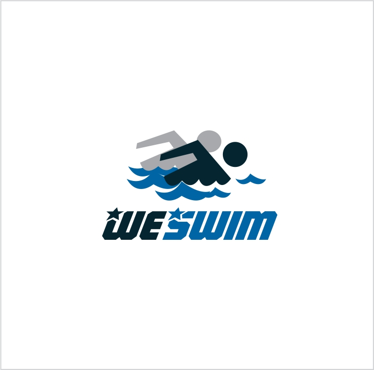 Logo Design by Private User - Entry No. 133 in the Logo Design Contest Captivating Logo Design for We Swim.