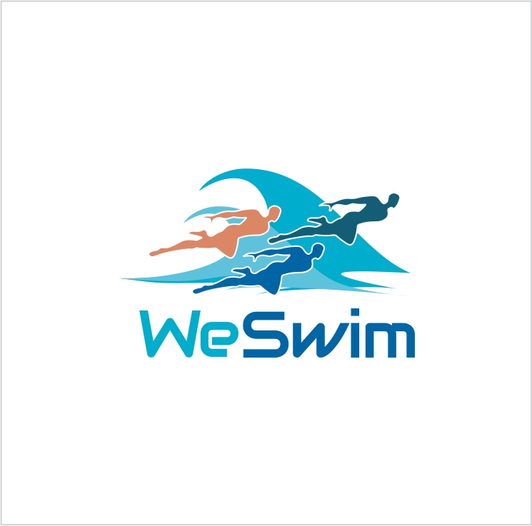Logo Design by Private User - Entry No. 138 in the Logo Design Contest Captivating Logo Design for We Swim.