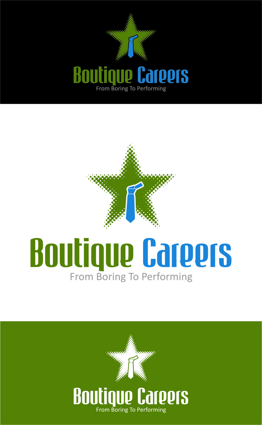 Logo Design by RasYa Muhammad Athaya - Entry No. 71 in the Logo Design Contest Captivating Logo Design for Boutique Careers.