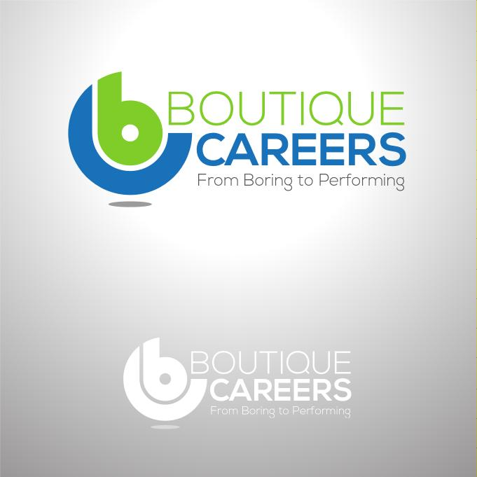 Logo Design by luvrenz - Entry No. 73 in the Logo Design Contest Captivating Logo Design for Boutique Careers.