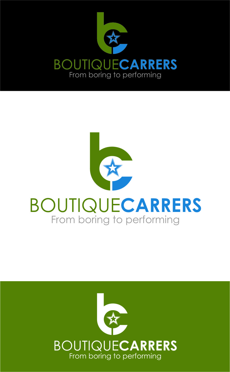 Logo Design by Ngepet_art - Entry No. 74 in the Logo Design Contest Captivating Logo Design for Boutique Careers.