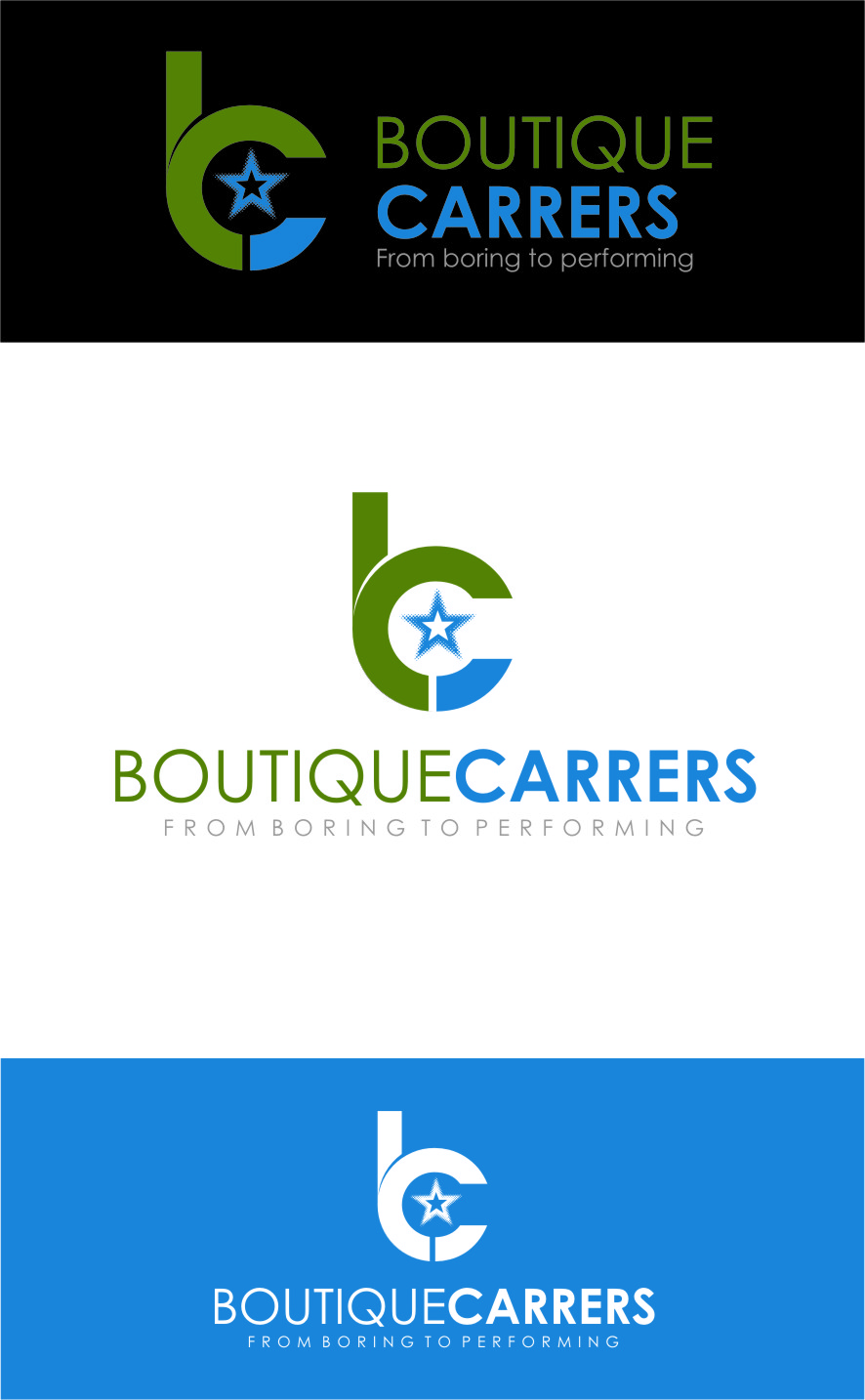 Logo Design by Ngepet_art - Entry No. 75 in the Logo Design Contest Captivating Logo Design for Boutique Careers.