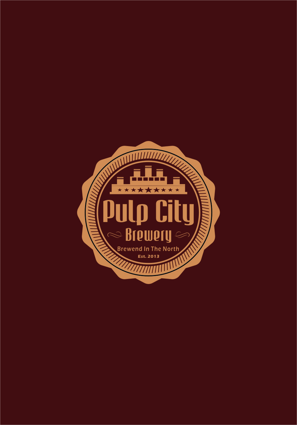 Logo Design by RasYa Muhammad Athaya - Entry No. 104 in the Logo Design Contest Artistic Logo Design for Pulp City Brewery.