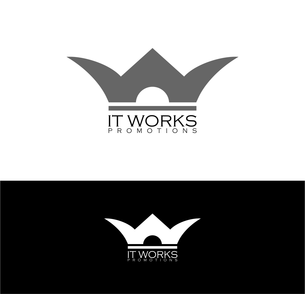 Logo Design by Agus Martoyo - Entry No. 140 in the Logo Design Contest Creative Logo Design for It Works Promotions.