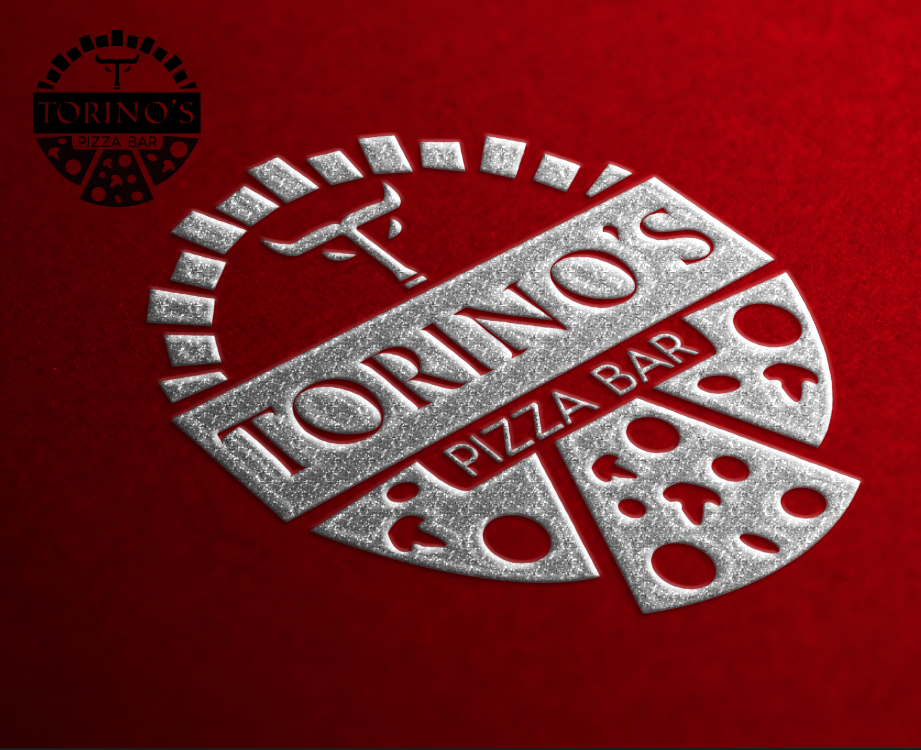 Custom Design by 3koats - Entry No. 19 in the Custom Design Contest Torino's Pizza Bar Custom Design.