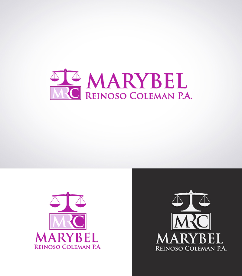Logo Design by Puspita Wahyuni - Entry No. 2 in the Logo Design Contest Creative Logo Design for Marybel Reinoso Coleman P.A..