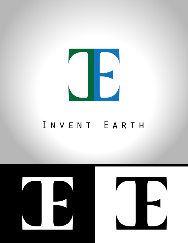 Logo Design by Chris Cowan - Entry No. 43 in the Logo Design Contest Artistic Logo Design for Invent Earth.