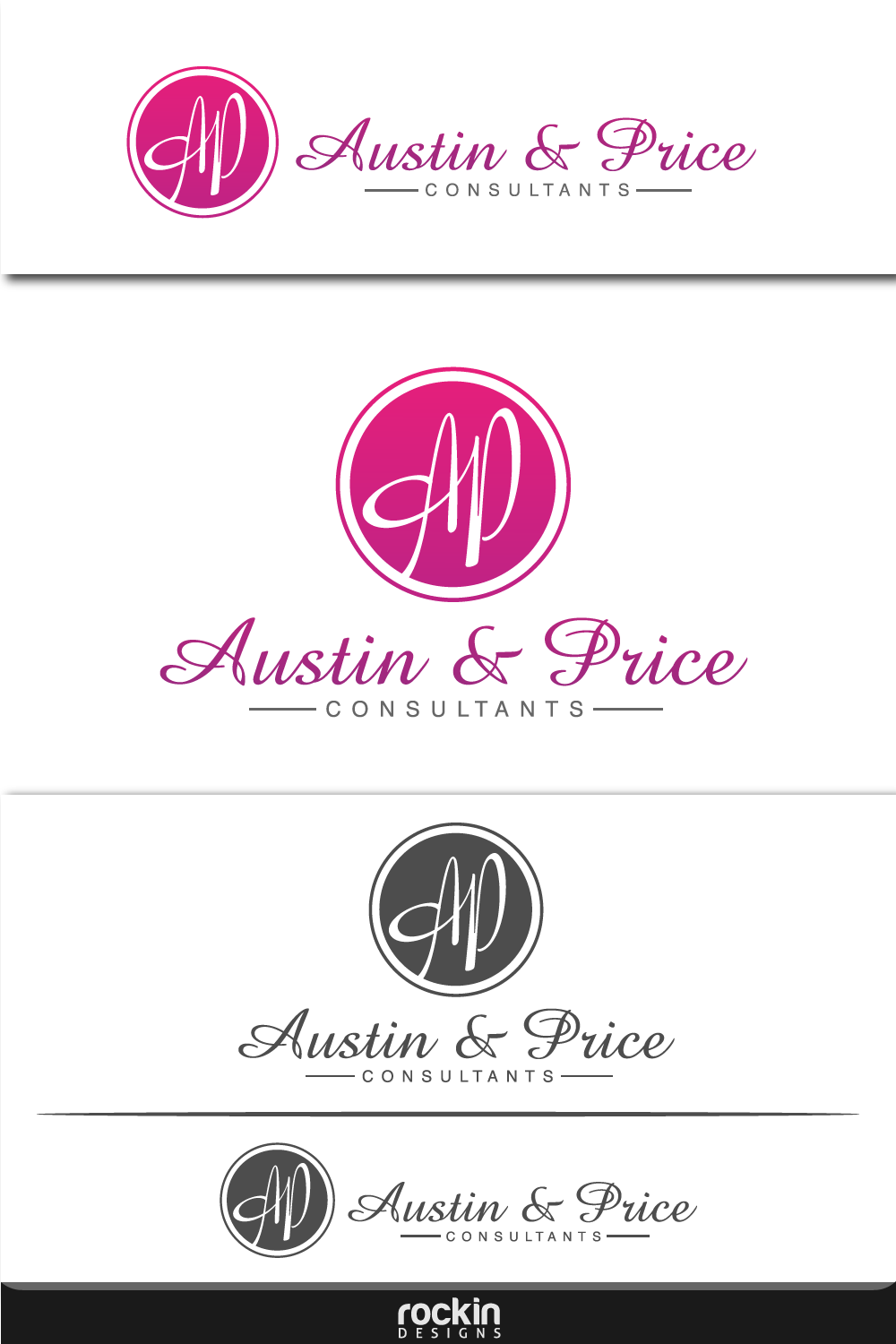 Logo Design by rockin - Entry No. 22 in the Logo Design Contest Artistic Logo Design for Austin Price Advisory.
