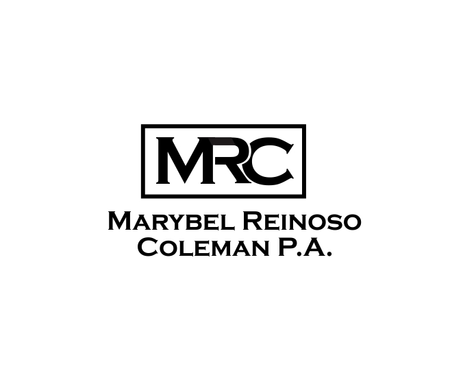 Logo Design by ronny - Entry No. 14 in the Logo Design Contest Creative Logo Design for Marybel Reinoso Coleman P.A..