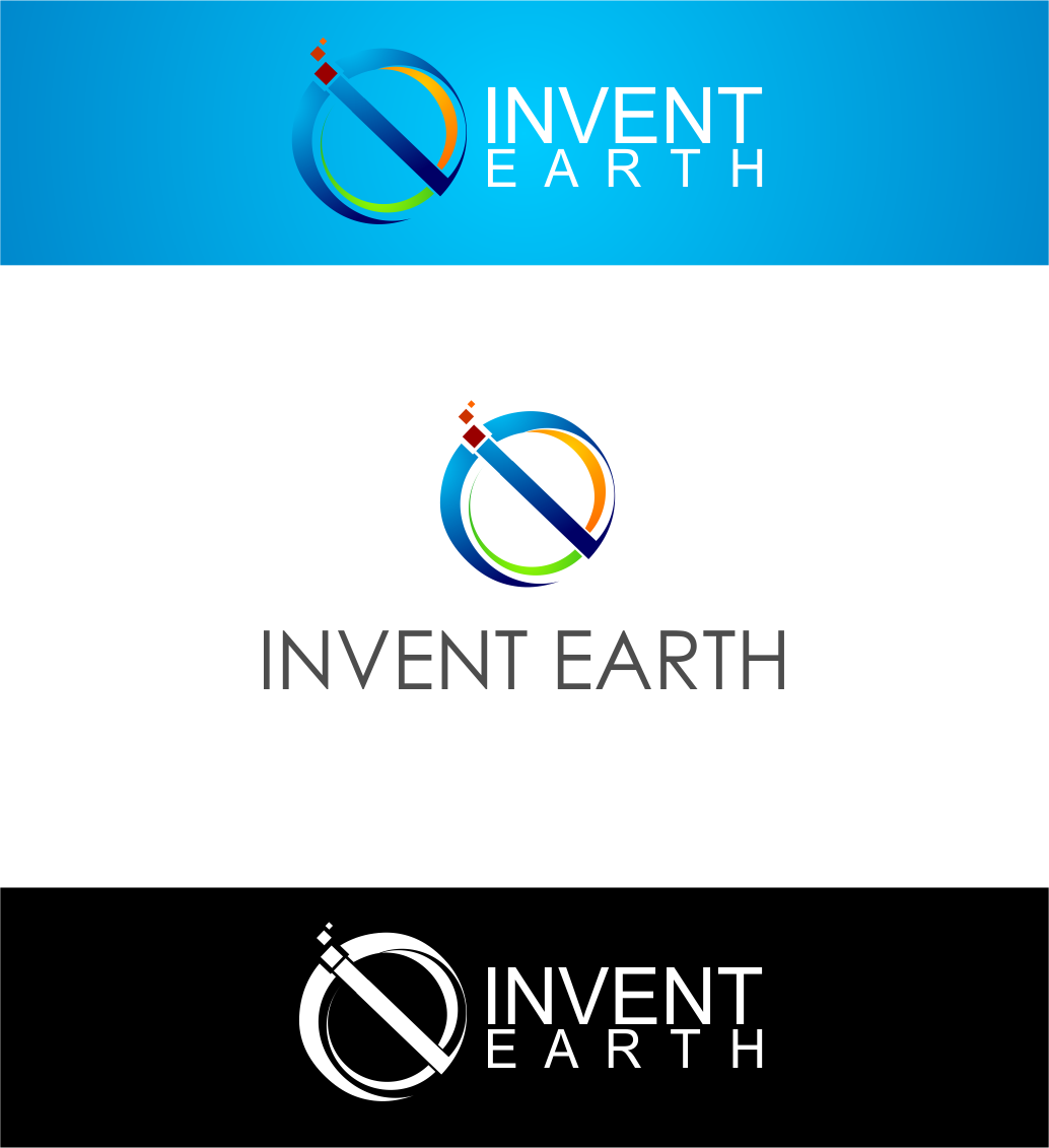 Logo Design by Agus Martoyo - Entry No. 55 in the Logo Design Contest Artistic Logo Design for Invent Earth.