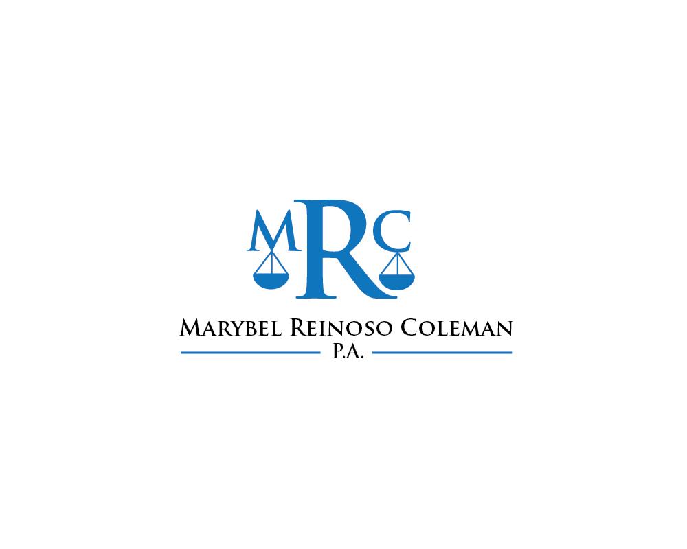 Logo Design by roc - Entry No. 17 in the Logo Design Contest Creative Logo Design for Marybel Reinoso Coleman P.A..
