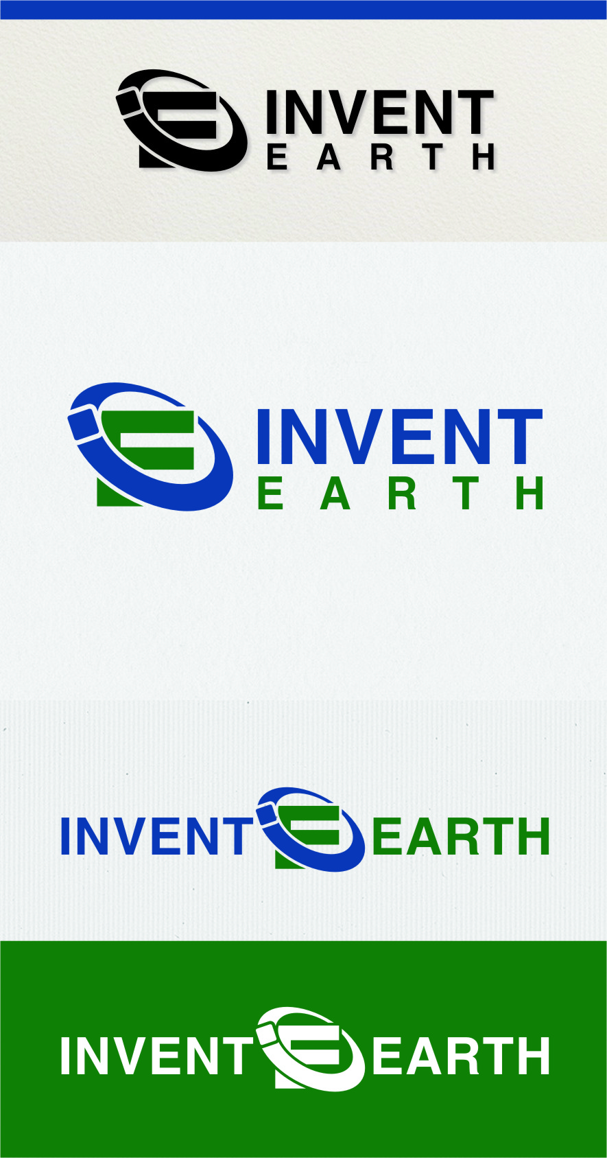 Logo Design by Ngepet_art - Entry No. 56 in the Logo Design Contest Artistic Logo Design for Invent Earth.