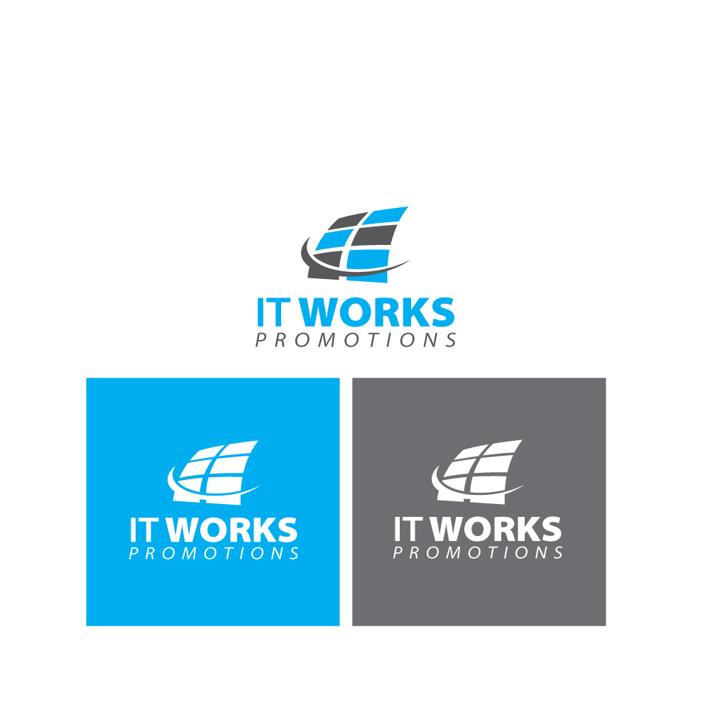 Logo Design by danelav - Entry No. 159 in the Logo Design Contest Creative Logo Design for It Works Promotions.