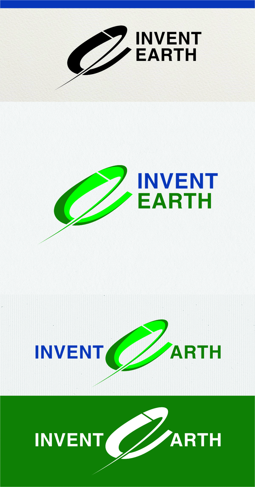 Logo Design by Ngepet_art - Entry No. 59 in the Logo Design Contest Artistic Logo Design for Invent Earth.