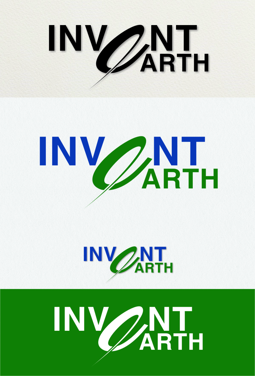 Logo Design by RoSyid Rono-Rene On Java - Entry No. 61 in the Logo Design Contest Artistic Logo Design for Invent Earth.