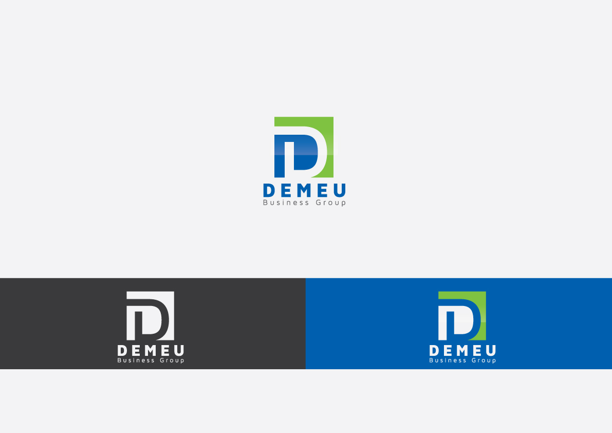 Logo Design by Salah Alamoudi - Entry No. 77 in the Logo Design Contest Captivating Logo Design for DEMEU Business Group.