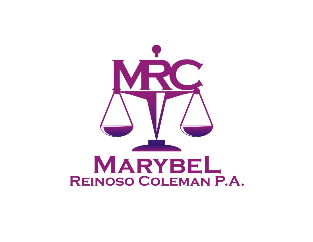 Logo Design by Private User - Entry No. 18 in the Logo Design Contest Creative Logo Design for Marybel Reinoso Coleman P.A..