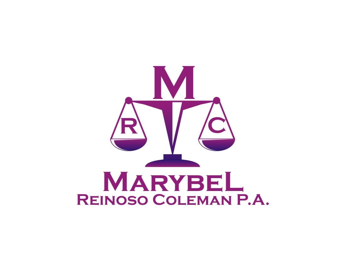 Logo Design by Private User - Entry No. 19 in the Logo Design Contest Creative Logo Design for Marybel Reinoso Coleman P.A..