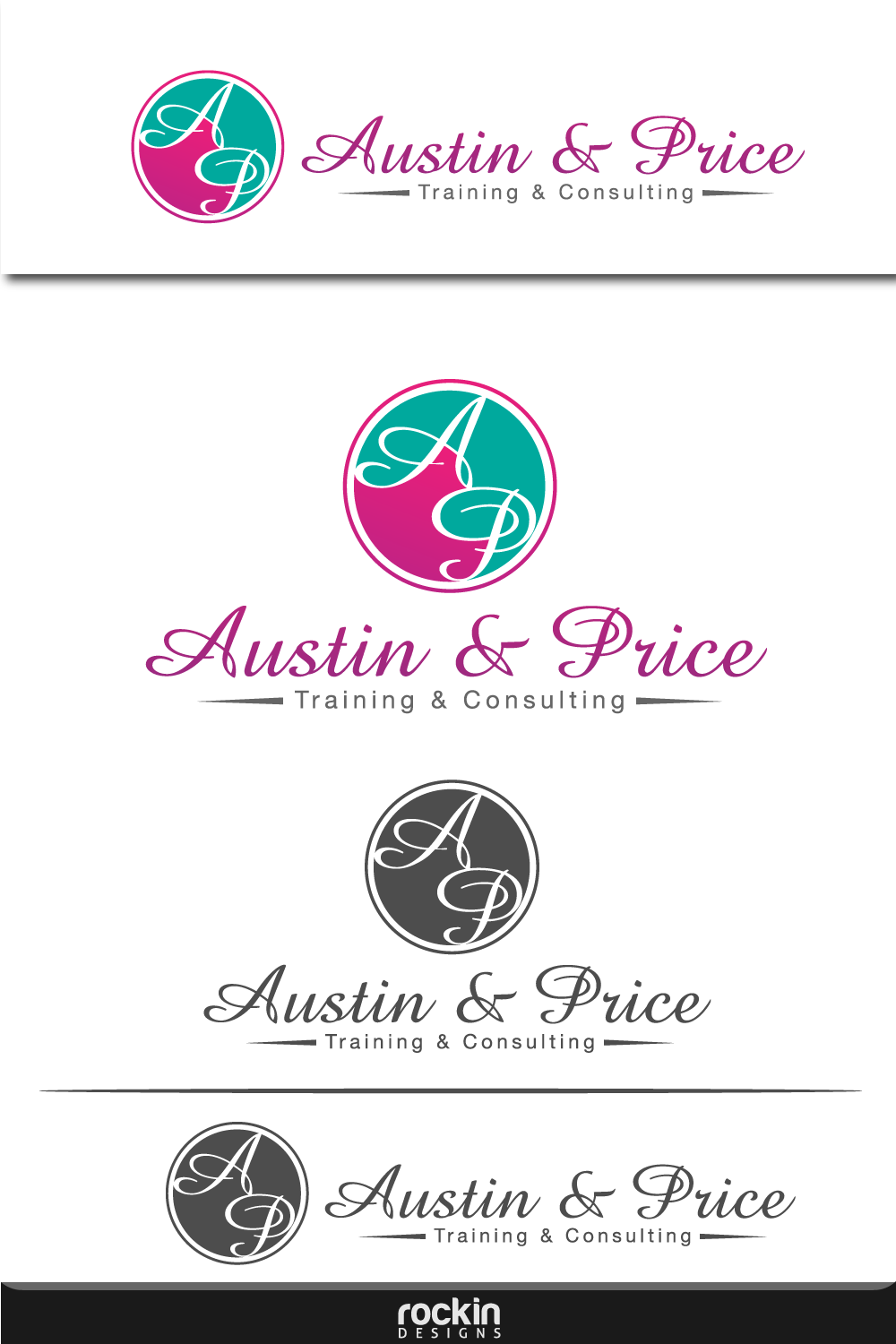 Logo Design by rockin - Entry No. 45 in the Logo Design Contest Artistic Logo Design for Austin Price Advisory.