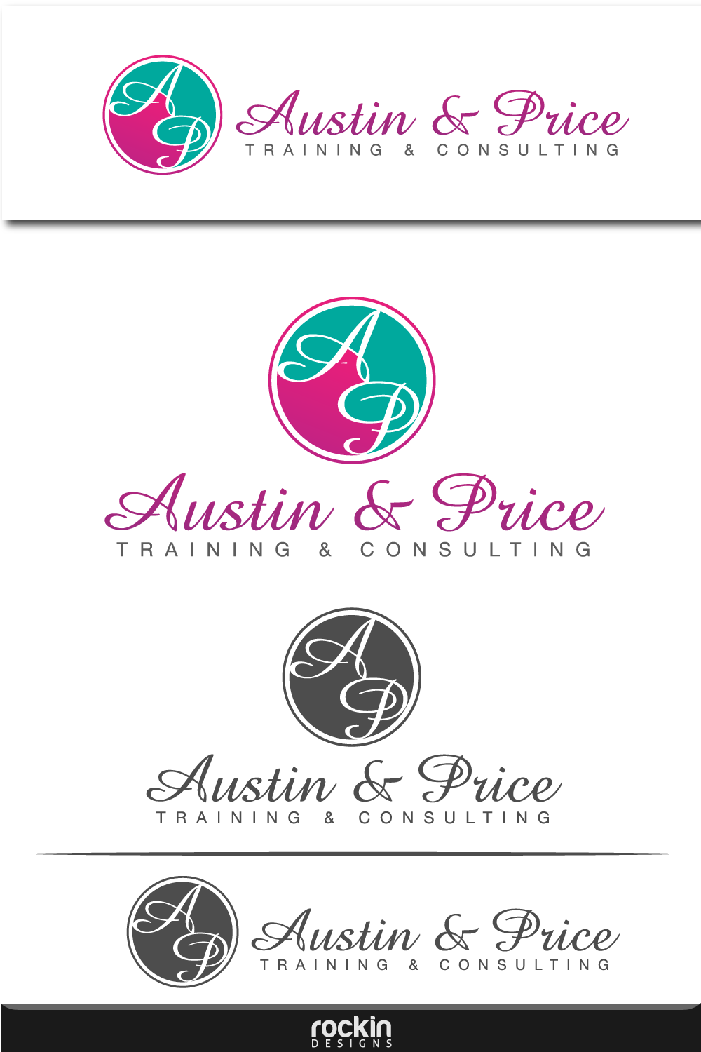 Logo Design by rockin - Entry No. 46 in the Logo Design Contest Artistic Logo Design for Austin Price Advisory.