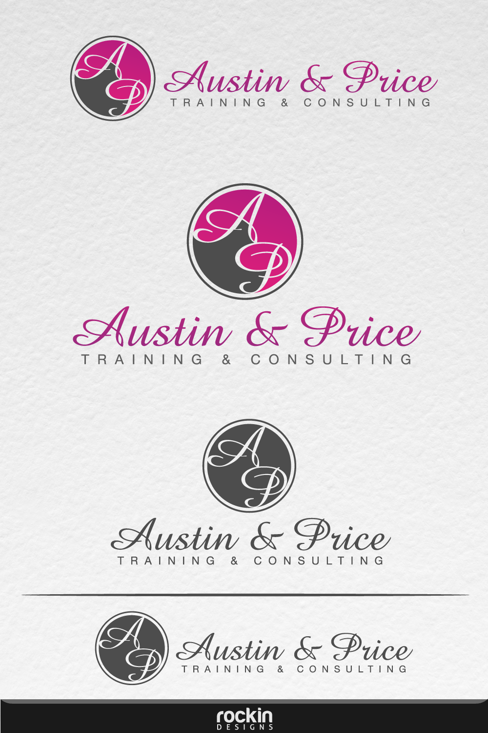 Logo Design by rockin - Entry No. 48 in the Logo Design Contest Artistic Logo Design for Austin Price Advisory.