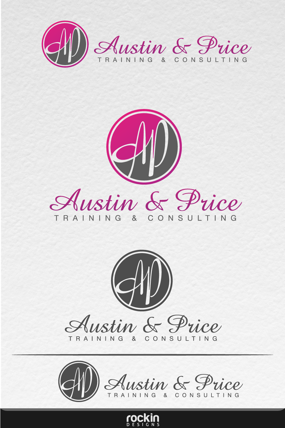 Logo Design by rockin - Entry No. 50 in the Logo Design Contest Artistic Logo Design for Austin Price Advisory.