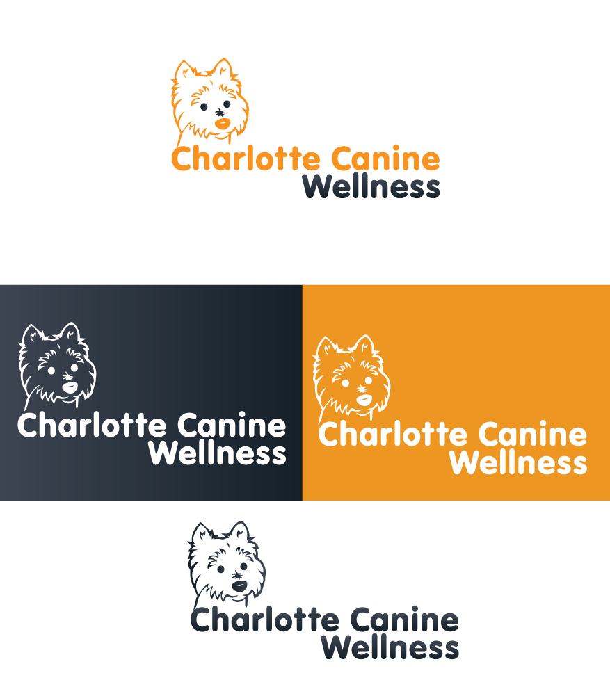 Logo Design by brands_in - Entry No. 3 in the Logo Design Contest New Logo Design for Charlotte Canine Wellness.