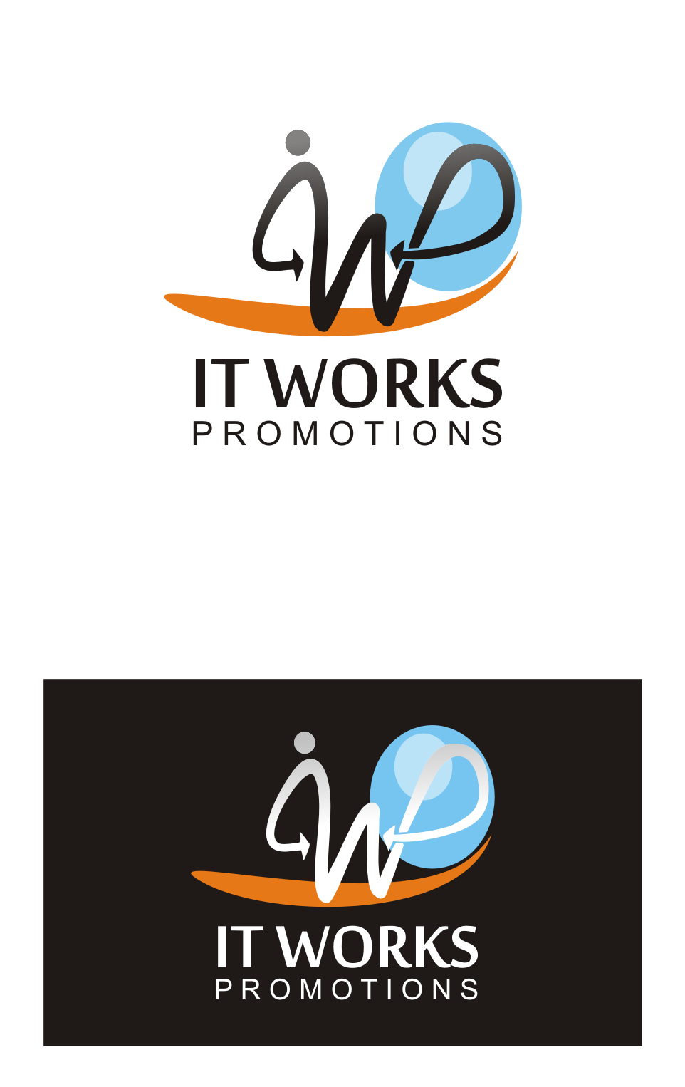 Logo Design by Nthus Nthis - Entry No. 167 in the Logo Design Contest Creative Logo Design for It Works Promotions.