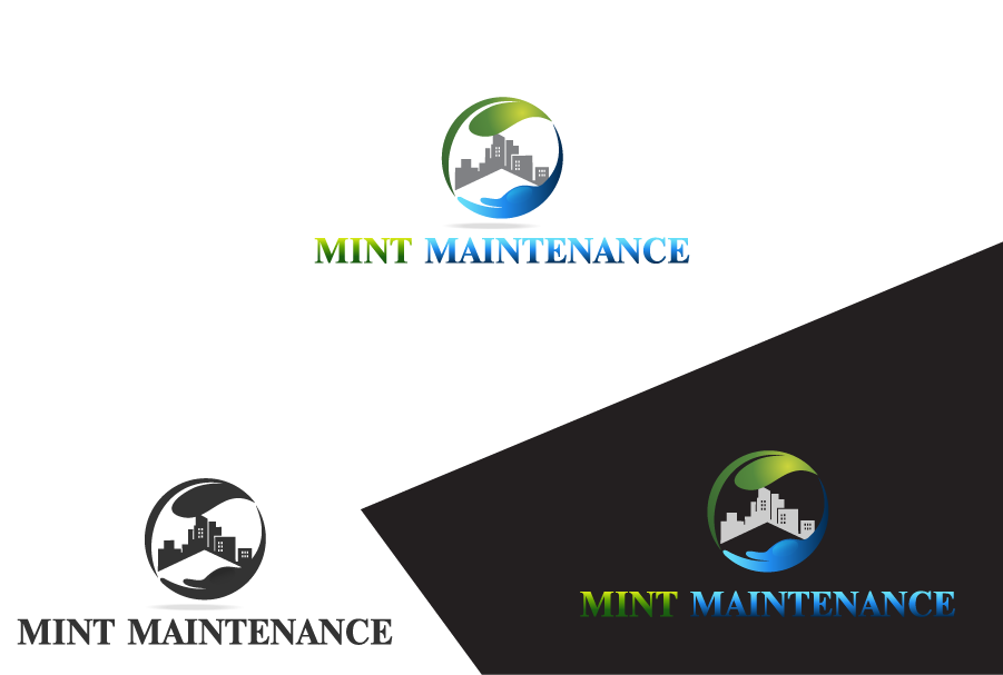 Logo Design by Private User - Entry No. 186 in the Logo Design Contest Creative Logo Design for Mint Maintenance.