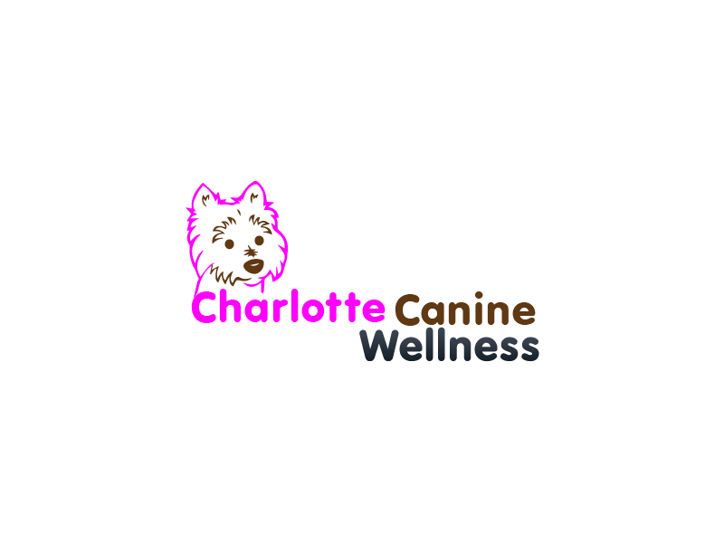 Logo Design by brands_in - Entry No. 4 in the Logo Design Contest New Logo Design for Charlotte Canine Wellness.