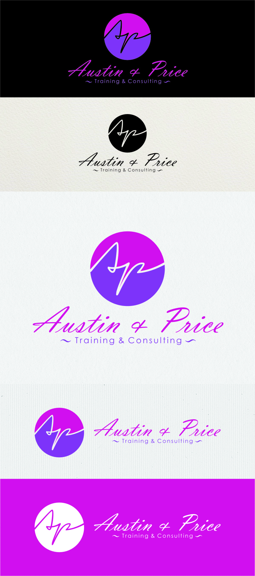 Logo Design by Ngepet_art - Entry No. 71 in the Logo Design Contest Artistic Logo Design for Austin Price Advisory.
