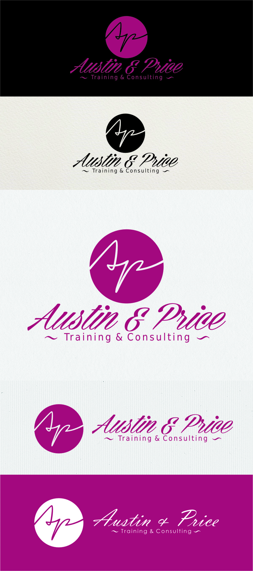 Logo Design by RasYa Muhammad Athaya - Entry No. 72 in the Logo Design Contest Artistic Logo Design for Austin Price Advisory.