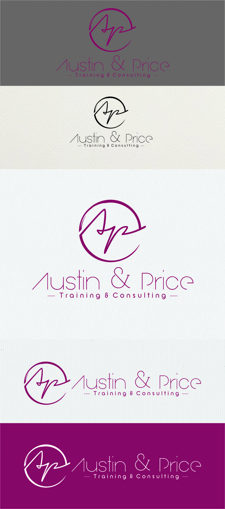 Logo Design by Ngepet_art - Entry No. 75 in the Logo Design Contest Artistic Logo Design for Austin Price Advisory.