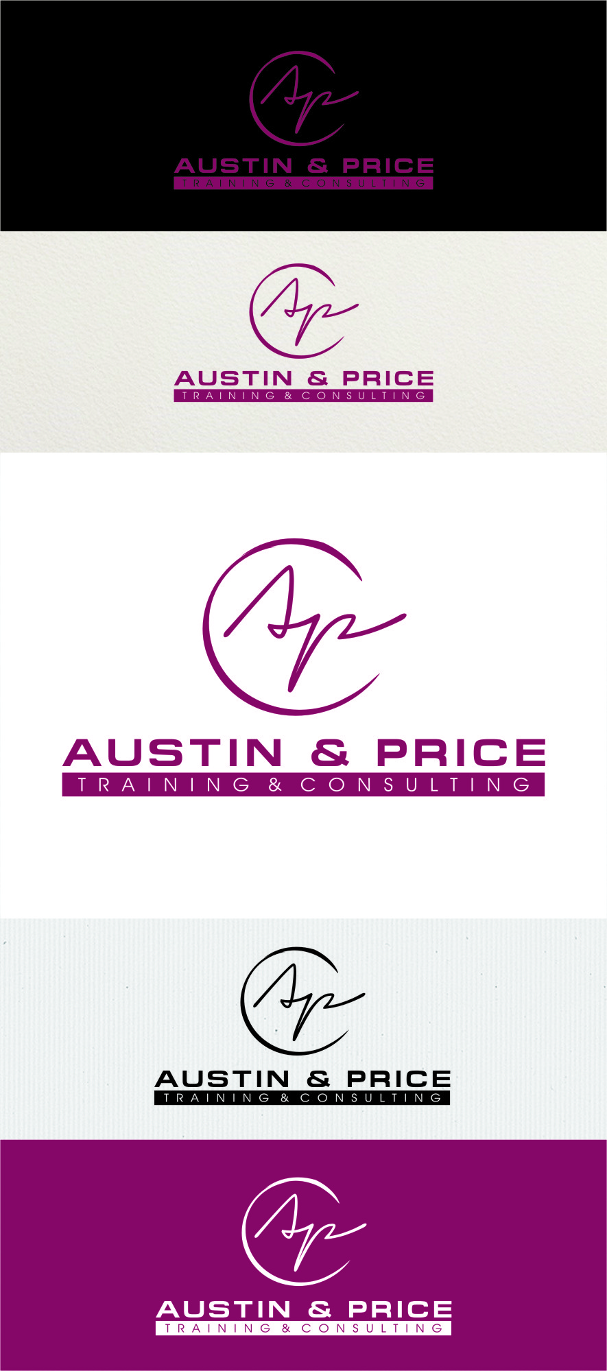 Logo Design by RasYa Muhammad Athaya - Entry No. 76 in the Logo Design Contest Artistic Logo Design for Austin Price Advisory.