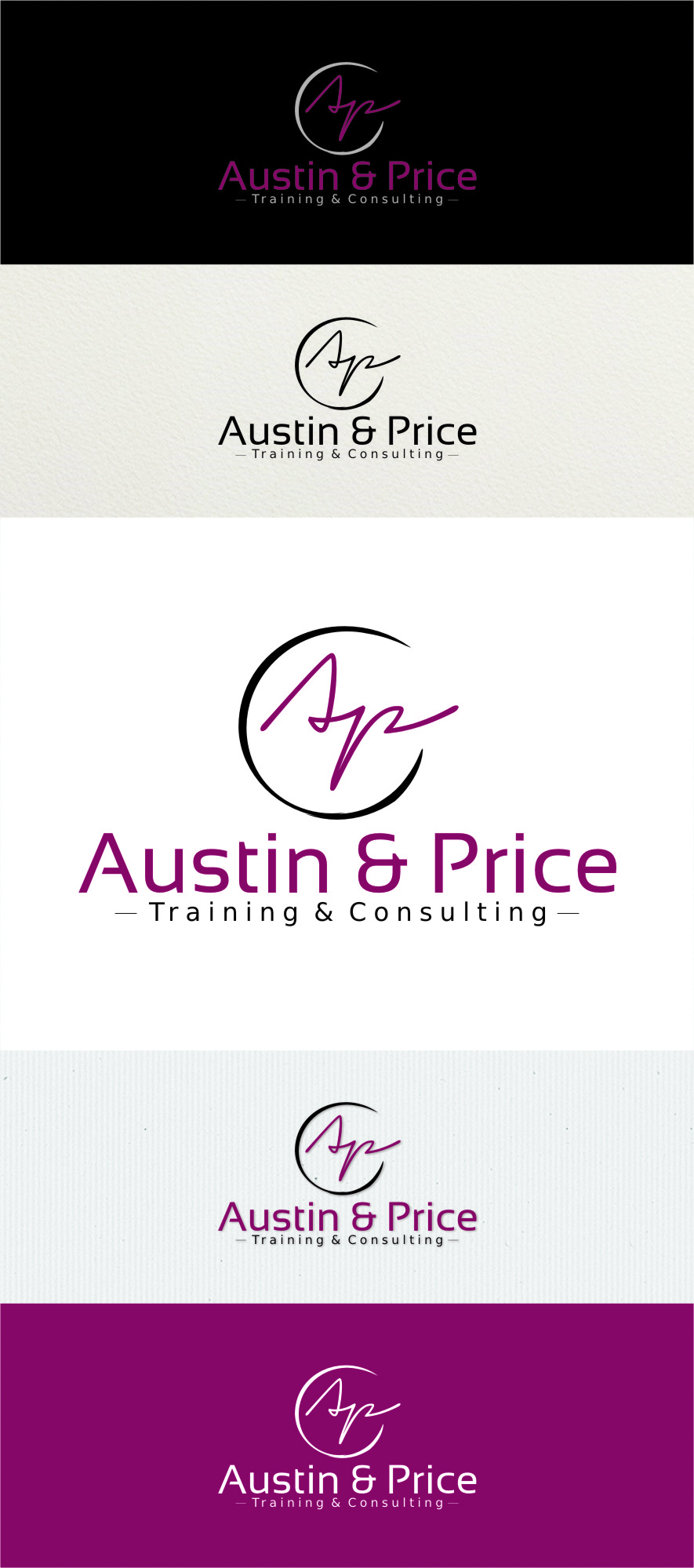 Logo Design by RoSyid Rono-Rene On Java - Entry No. 79 in the Logo Design Contest Artistic Logo Design for Austin Price Advisory.